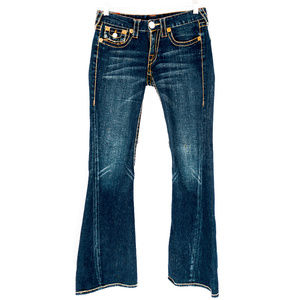 True Religion JOEY BIG T Jeans Size 28 #00370 for sale